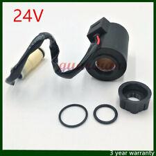 24V Solenoid Coil  For VOLVO Excavator EC140 EC160 EC210 EC240 EC290 EC360