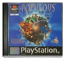 POPULOUS: THE BEGINNING (PS1 Game) Playstation A