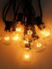 6m G50 Glühbirne Lichterkette Außen/Innen Garten Biergarten Deko 20 Licht 220V