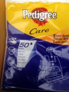 PEDIGREE 50 EASI-SCOOP DOG POO, WASTE BAGS,