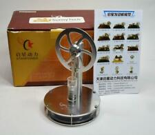 NIB SunnyTech Starpower Low Temperature Stainless St LTD Stirling Engine Model