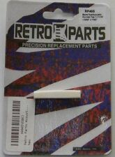 Bone Acoustic Curved Saddle Blank by Retro Parts, 1 11/16 Inch, Rp495
