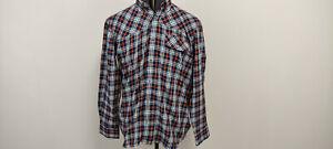 Beretta Mens Shooting Hunting Casual Long Sleeve Cotton Shirt Check 42 Large