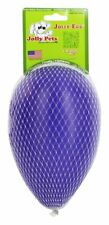 Jolly Pets Egg 8 inch Purple | Hard Plastic Chew Toy for Small Dogs