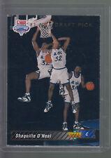 1992-93 Upper Deck #1 NBA Draft Pick #1 SHAQ Shaquille O'Neal RC SP Magic Lakers