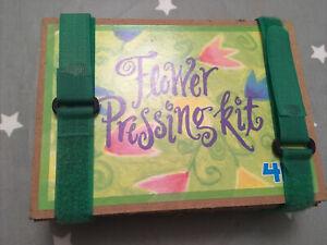 Flower Leaf Pressing Kit Set Presser DIY Flower Drying Craft. Cardboard