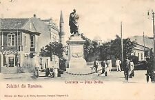 B76476 Romania Constanta Piata ovidiu Shop of P Ifcovici 1900
