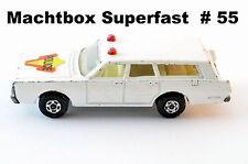 Matchbox Superfast  # 55 Mercury commuter stationwagon / Transit Polizei