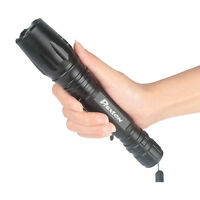 20000LM Tactical Flashlight XML T6 LED Zoom In/Out 18650 Torch Camping Light