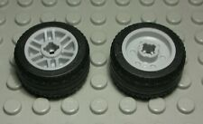 Lego Rad 2,5x2,5 6015 Reifen Gelber Felge 4 Stück 1570