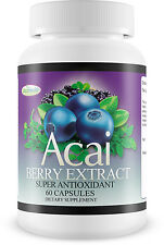 ACAI BERRY Lose Weight Pill BURN FAT Loose Pounds FAST