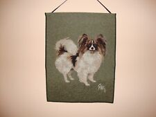 Papillon Dog Wall Hanging Tapestry