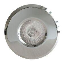 Fire Rated IP65 Bathroom Spot Lights GU10 Chrome  240V