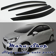 Smoke Door Window Vent Visor Deflector for 12~ Kia Rio5