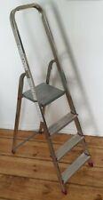 Gebrauchte Alu Leiter Haushaltsleiter Malerleiter 4 Stufen