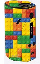 Wismec RX200 VAPE MOD LEGO Mattone & Altri Skin Wrap VINILE solo wrx4