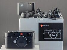 Leica M10 schwarz Typ 20000 vom 06.09.17 FOTO-GÖRLITZ Ankauf+Verkauf