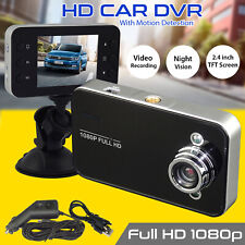 "2.7"" 1080P HD Car DVR Vehicle Camera Video Recorder Dash Cam Night Vision"