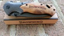 BROWNING X50 Folding Tactical Pocket Knife - BRAND NEW W/BOX.  PRODUCT IN USA