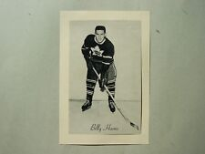 1944/64 BEEHIVE CORN SYRUP GROUP 2 NHL HOCKEY PHOTO BILLY HARRIS SHARP+ BEE HIVE