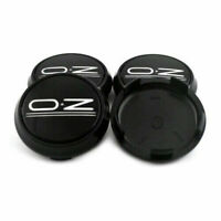 4x 68mm OZ Racing Black Wheel Center Caps Hub Cover M673 for OZ Leggera-HLT