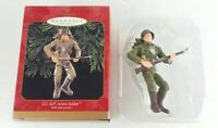 Hallmark Keepsake Ornament GI Joe Action Soldier 35th Anniversary 1999 New Gift
