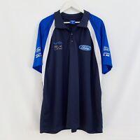 Ford Falcon XR8 V8 5.4 Litre Polo Shirt Blue Mens 4XL