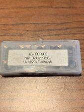 K Tool Speb 332 X33 10pcs Loc 1047