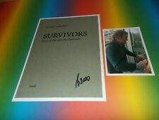 Martin Schoeller  Kunst Art signiert signed  Autogramm auf 20x28 Foto in person