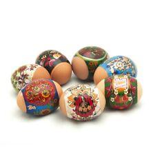 Green Khokhloma with Circle Patterns, Easter Egg Shrinking Wraps