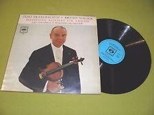 Beethoven - Violin Concerto / Zino Francescatti / Walter / 1967 Dutch IMPORT EX