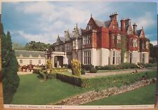 Irish Postcard MUCKROSS HOUSE Lakes of Killarney Natl Pk Kerry Ireland Hinde 4x6