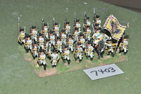 25mm 7YW / Austrian - seven years war infantry 32 figures metal - inf (7403)