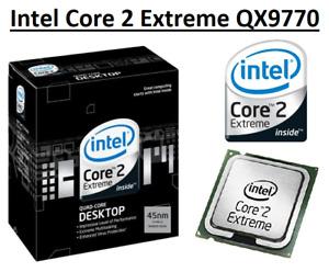 Intel Core 2 Extreme QX9770 SLAWM 3.2GHz, 12MB, 4 Core, Socket LGA775, 136W CPU