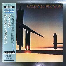 MARION BROWN Vista JAPAN CD MVCZ-118 1997 Excellent w/ obi
