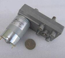 DC 24V 5.2RPM 1A 24W 50KG.cm High Torque Brush DC Gear Box Motor Speed Reducer