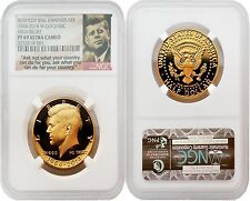 USA 2014W Kennedy 50th Anniv. High Relief Gold NGC PF69 ULTRA CAMEO