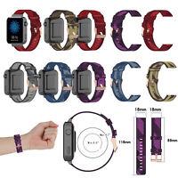 Ersatz Armband Für Garmin Vivomove 3S/Vivoactive 4S Woven Nylon Strap Uhrenarm