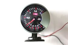 "2.34"" 60mm Ladestange LED7707 Turbo Verstärkung Vakuum Manometer Auto LED Weiß"