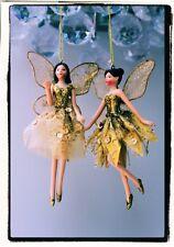 Gold Fairy Christmas decoration by Gisela Graham