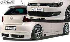 RDX Bodykit VW Polo 6R Front Spoiler Heck Ansatz Seitenschweller Tuning Set