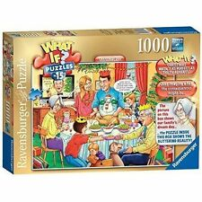 19657 Ravensburger What If? No 15 Jigsaw Christmas Day 1000pcs Puzzle 12yr