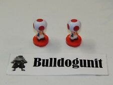 Super Mario Chess Collector's Edition Board 2 Toad Rook Pieces Only 2009