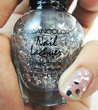1PC Kleancolor Nail Polish Lacquer #28 Chunky Silver Glitter Nail Polish