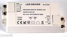ALIMENTATION SECTEUR DIMMABLE 220V 12V continus 24 W pour ampoules strips à leds