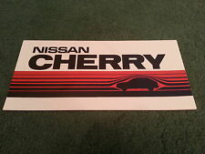 October 1982 / 1983 Model Nissan CHERRY - UK SMALL FOLDER BROCHURE