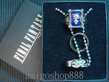 Final Fantasy VIII 8 FF8 Ring Necklace & Amber Ring