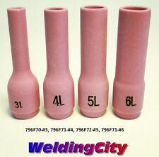4-pk TIG Welding Long Ceramic Cup 796F #3-#6 Torch 9/20 | US Seller Fast Ship