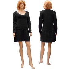 Robe Pull Élégante - Décolleté Arrondi Sexy - NOIRE - Taille 38 40