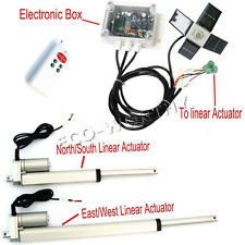 Complete Kit:Dual Axis Solar Tracking System -Solar Tracker Tracking Dual Axis